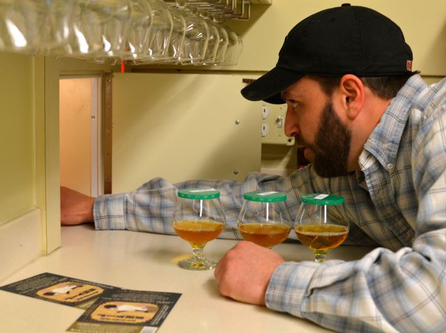 Ryan Mazur has helped developed Dogfish's sensory program from the beginning.