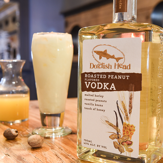 Peanut Colada with Roasted Peanut Vodka