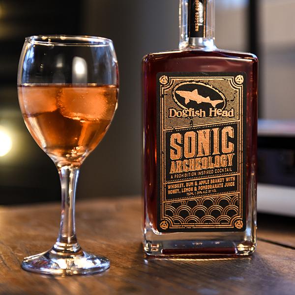 Sonic Archeology & Sauvignon Blanc cocktail