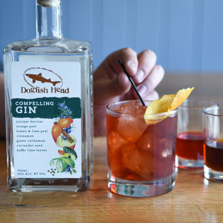 Negroni with Compelling Gin
