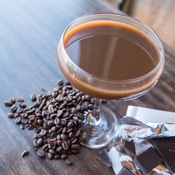 Espresso Nut Martini with Roasted Peanut Vodka