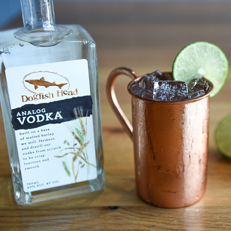 Moscow Mule with Analog Vodka