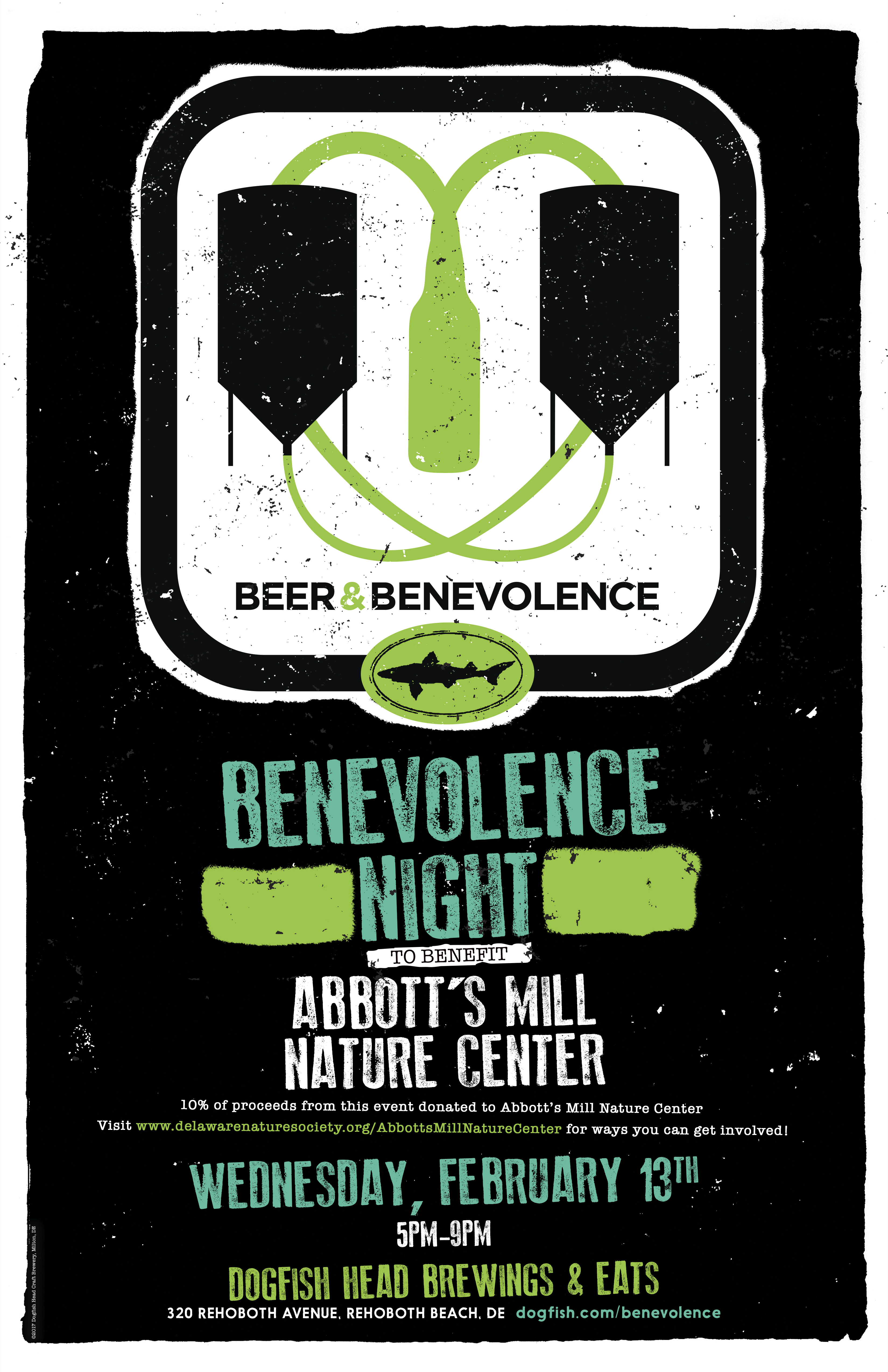 Beer & Benevolence Night to benefit Abbott's Mill Nature Center