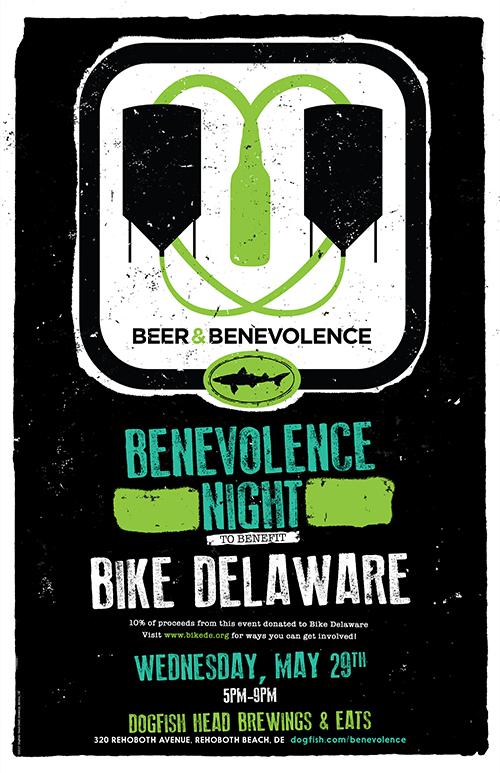 Beer & Benevolence Night to benefit Bike Delaware