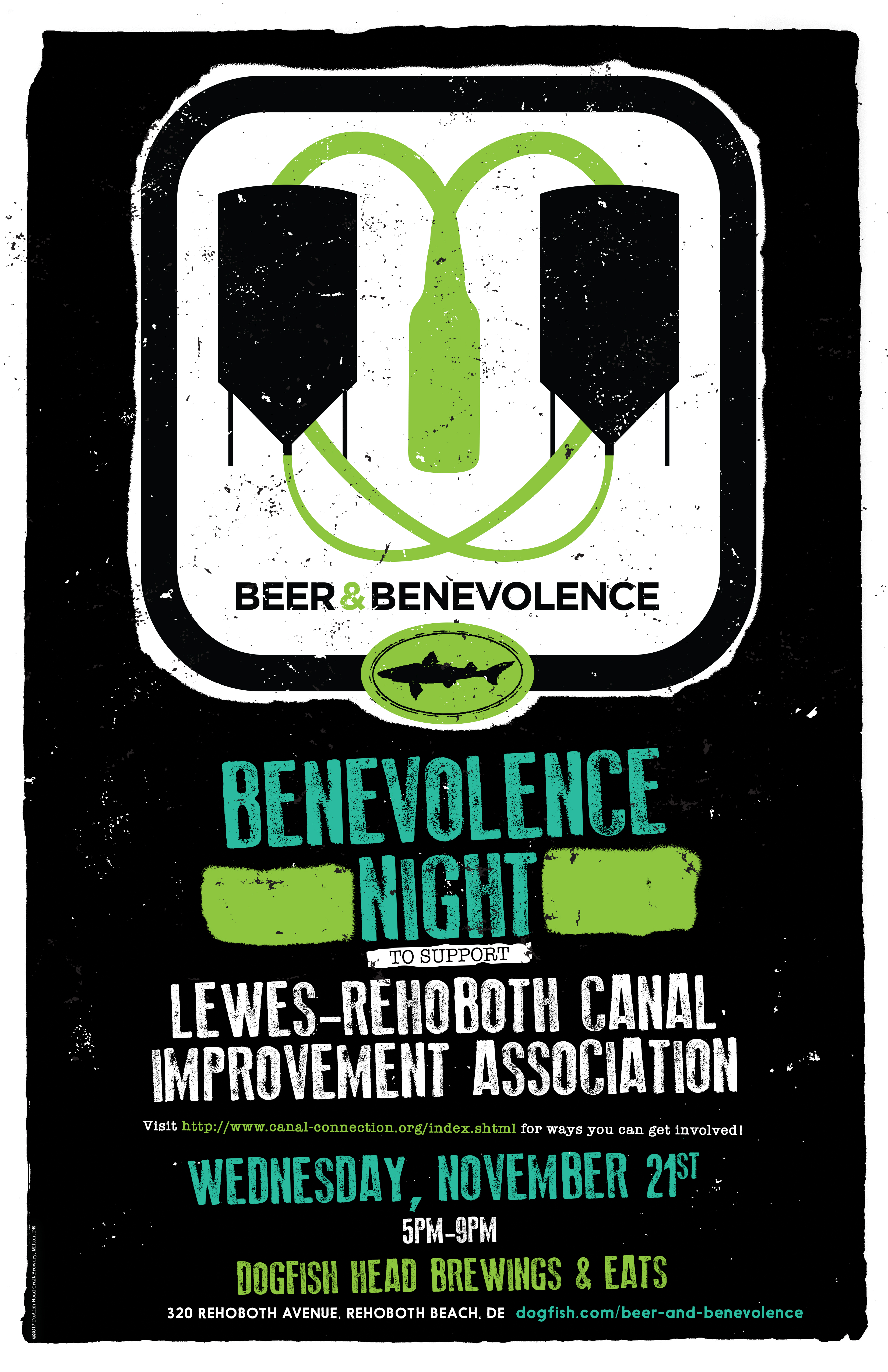 Beer & Benevolence Night - Lewes-Rehoboth Canal Improvement Association (LRCIA)
