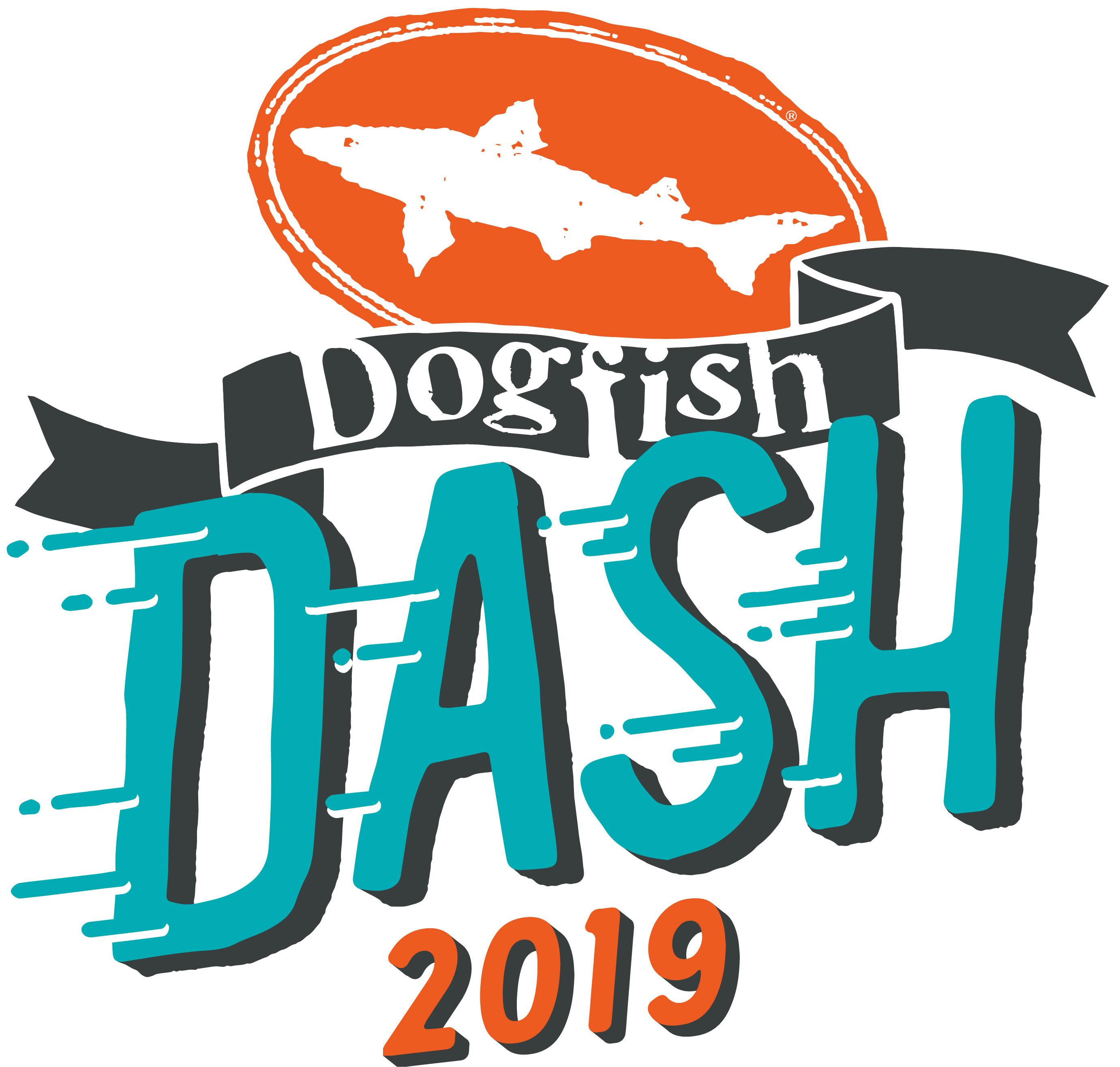 2019 Dogfish Dash logo