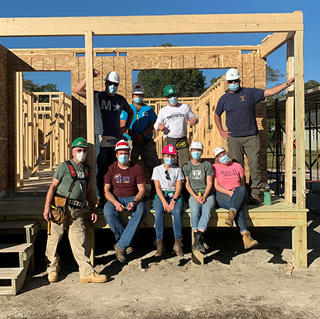Benevolence Day with Sussex County Habitat for Humanity