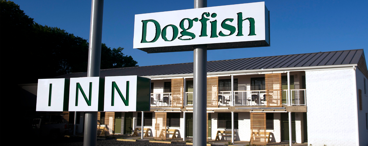 Dogfish Inn Sign