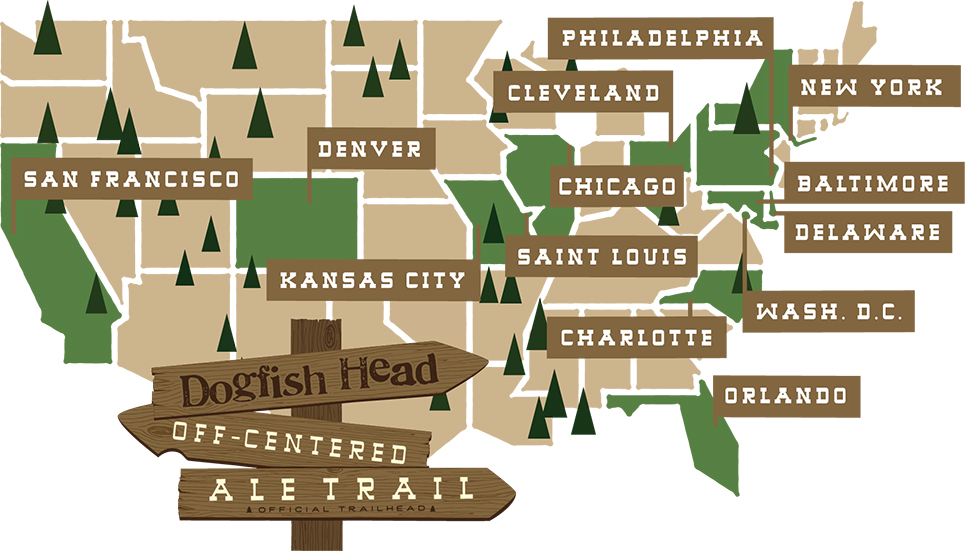 Trail Heads Map