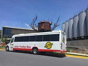 Jolly Trolley At Dogfish Head