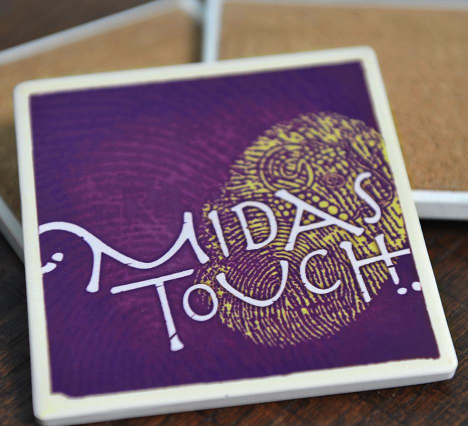 Midas Touch Coaster 2