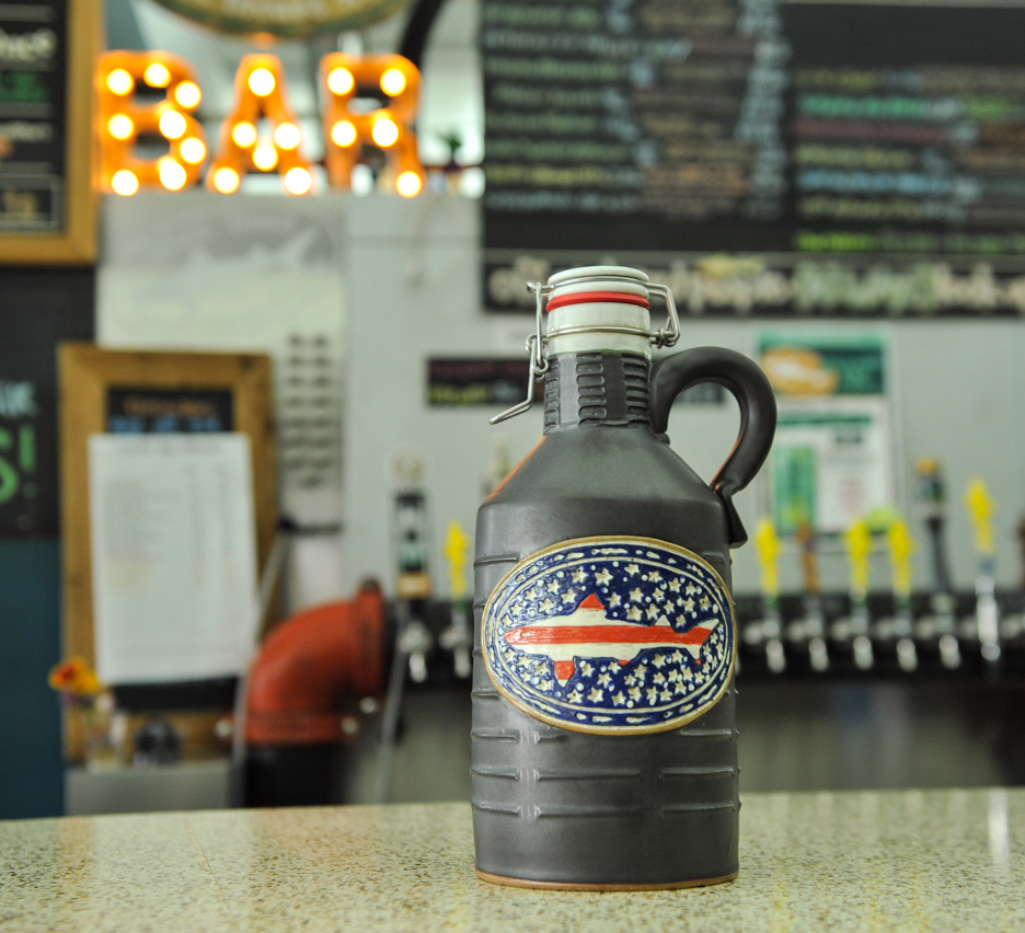 Flag Growler 1