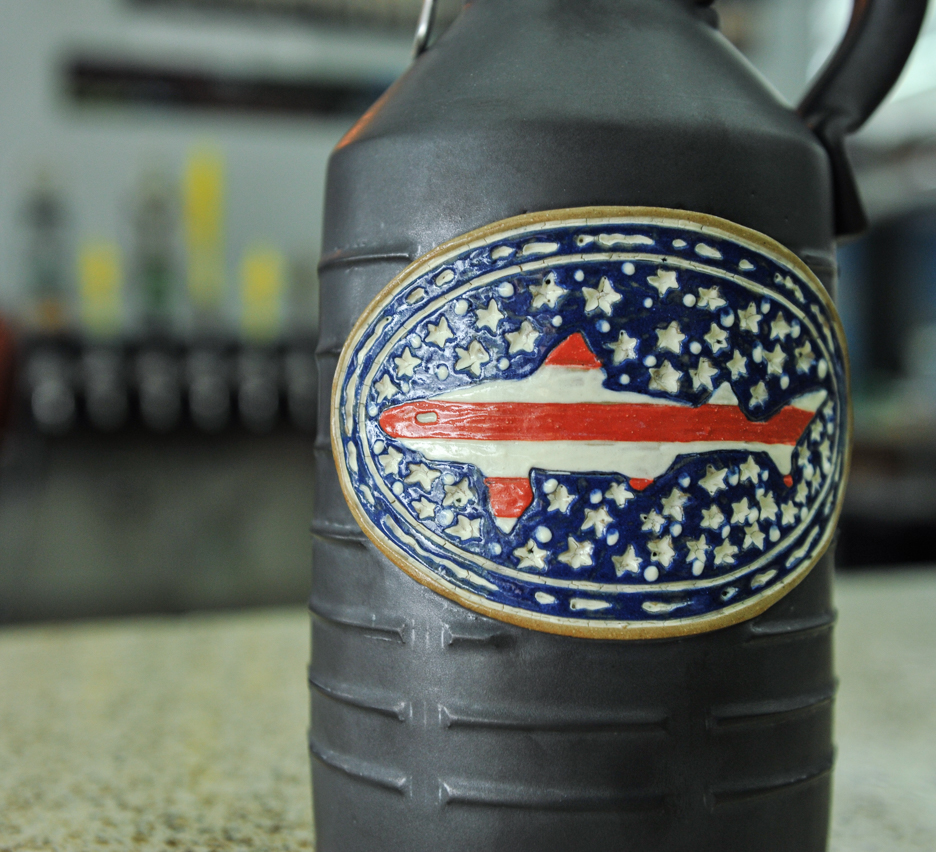 Flag Growler 2