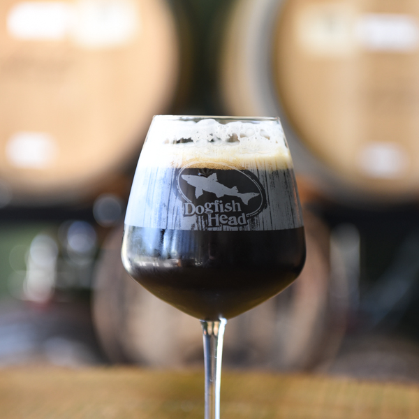 Wood Aged Beer Glass
