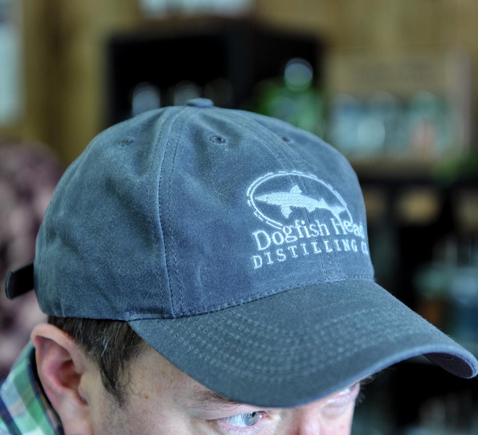 Distillery Logo Waxed Canvas Hat
