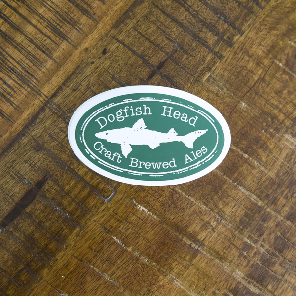 Oval Logo Sticker