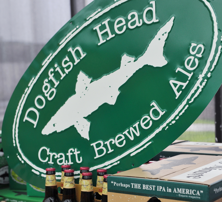 Dogfish Fish Finder | Dogfish Head Large Tacker Dogfish Head Craft Brewed Ales Off
