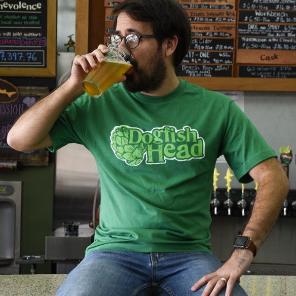Men's Green Hops Tee