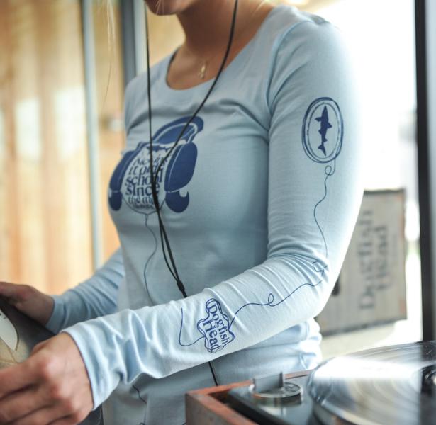 Women Blue Long Sleeve
