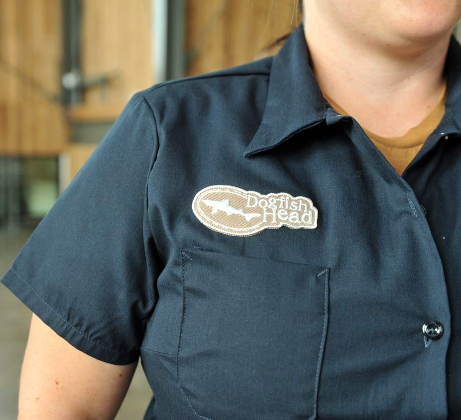 women's navy work shirt