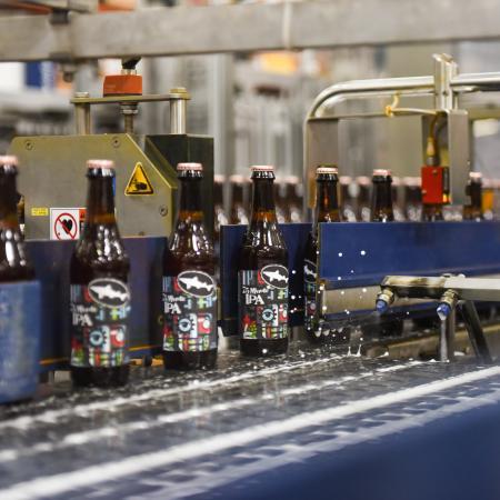 75 Minute on bottling line