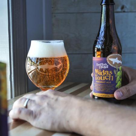 Midas Touch Ancient Ale pour