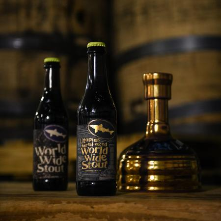 Utopias Barrel-Aged World Wide Stout bottle