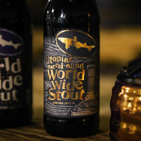 Utopias Barrel-Aged World Wide Stout bottle