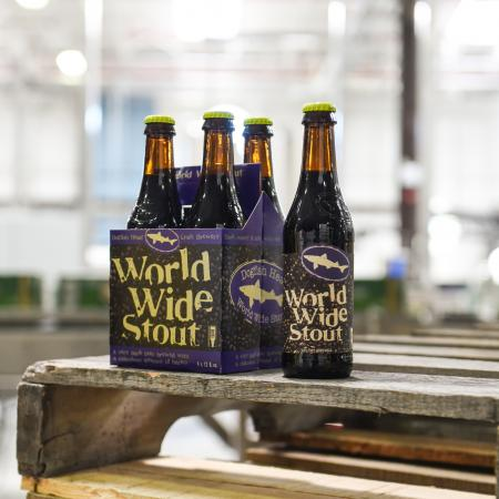 World Wide Stout on pallet