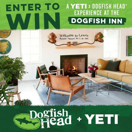YETI x Dogfish Head Weekend graphic