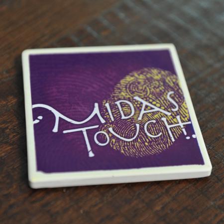 Midas Touch Coaster 1