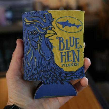 Blue Hen Koozie
