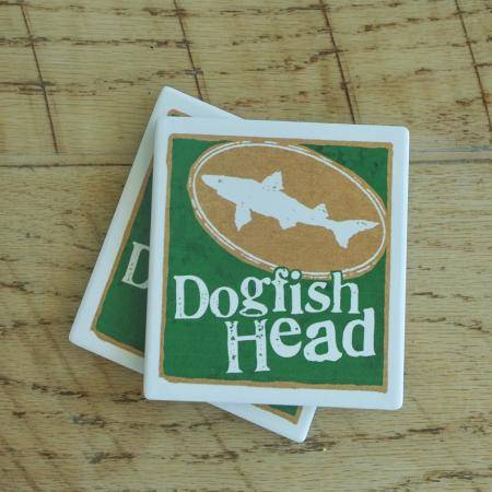 Dogfish Head General Brand Coaster