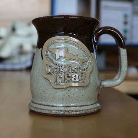 Tan Stoneware Mug 1