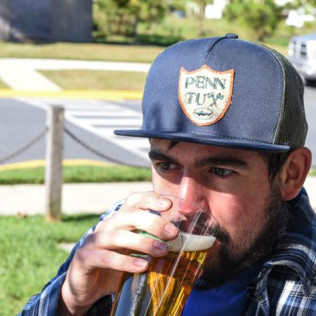 PennTux Trucker hat
