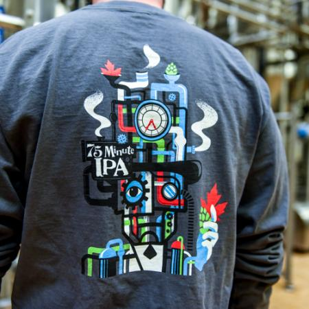 75 Minute IPA Longsleeve Pocket Tee