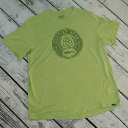Men's Cool Trail Tee in Green