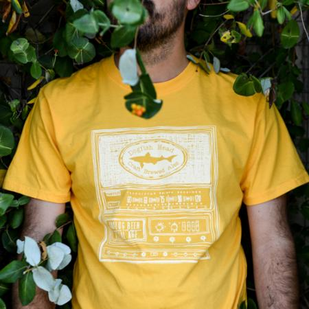 Yellow Analog Tee