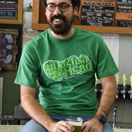 Men's Green Hops Tee