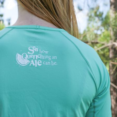 Womens SeaQuench Running Shirt