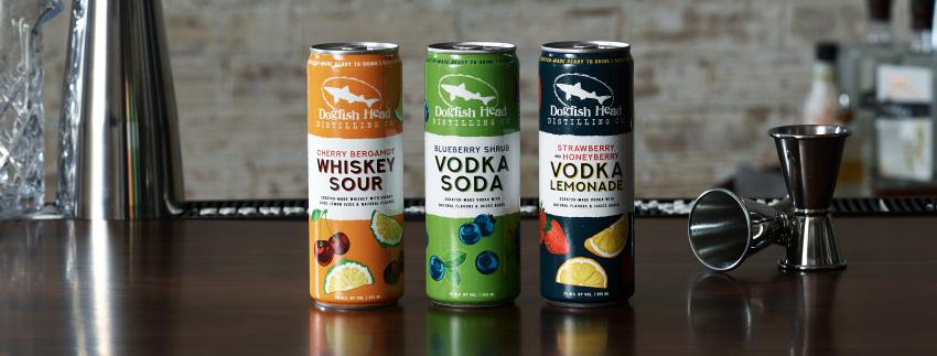 Dogfish Head Canned Cocktails