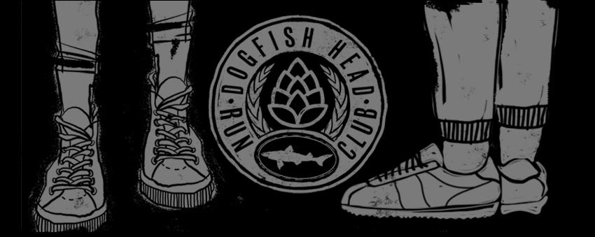 Dogfish Head Run Club Graphic