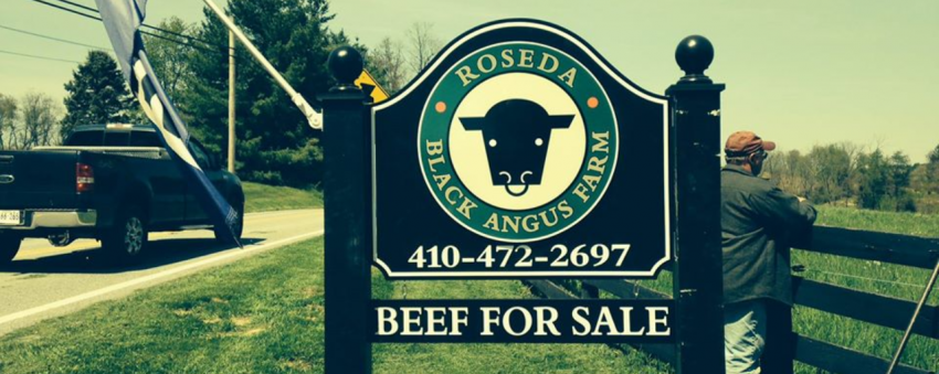 Roseda Farm Sign Header