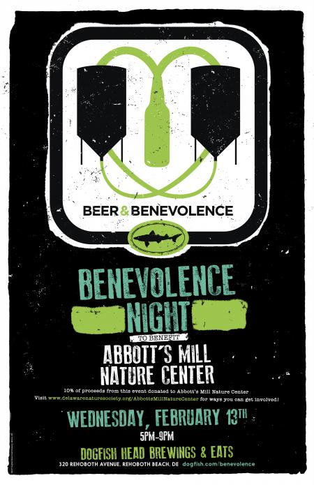 Beer & Benevolence Night to benefit Abbott's Mill Nature Center