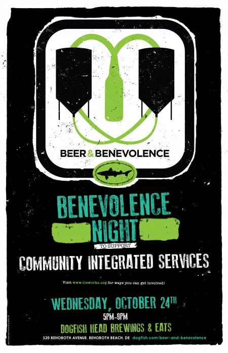 Beer & Benevolence Night benefiting Community Integrated Services