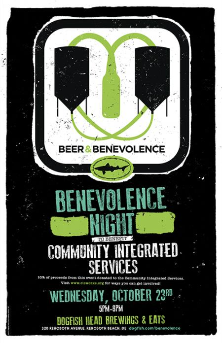 Beer & Benevolence Night to benefit Community Integrated Services