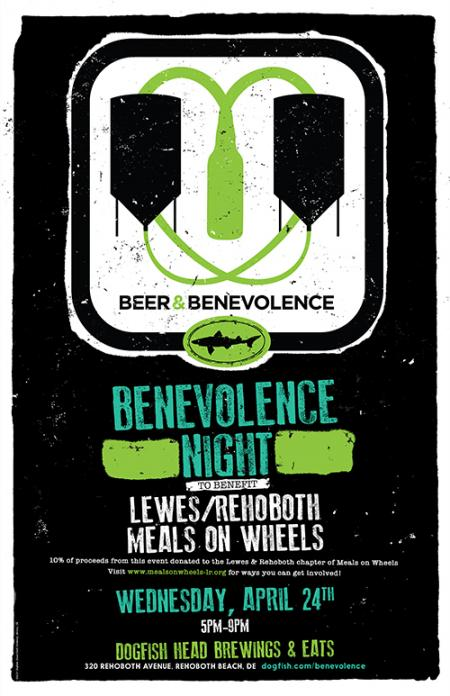 Beer & Benevolence Night to benefit Meals on Wheels