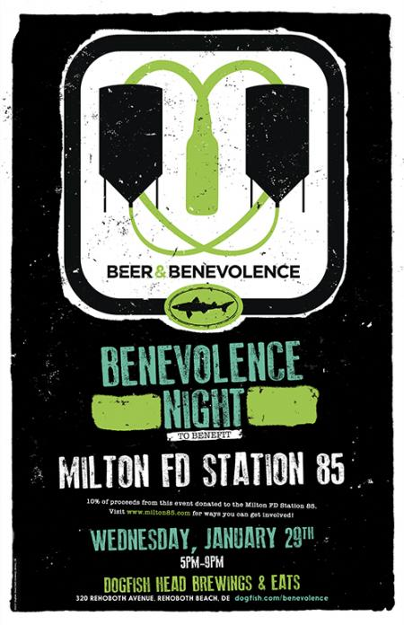 Beer & Benevolence Night to benefit Milton Fire Dept. Station 85