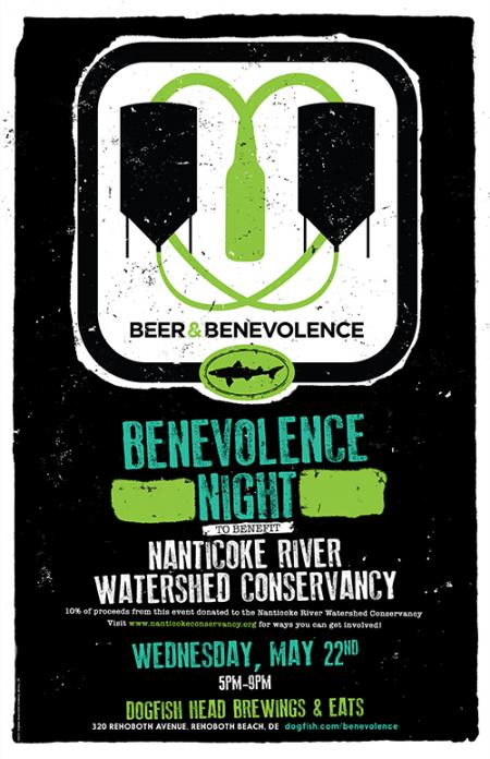 Beer & Benevolence Night to benefit the Nanticoke River Watershed Conservancy