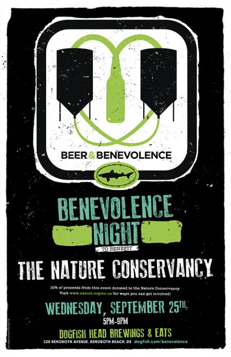 Beer & Benevolence Night to benefit The Nature Conservancy